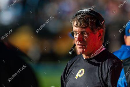 Editorial image of NFL Football: Washington at Carolina, Charlotte, USA - 01 Dec 2019