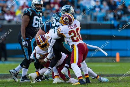 Editorial image of NFL Football: Washington at Carolina, Charlotte, USA - 01 Dec 2019