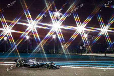 Stock Picture of Motorsports: FIA Formula One World Championship 2019, Grand Prix of Abu Dhabi,  #77 Valtteri Bottas (FIN, Mercedes AMG Petronas Motorsport),