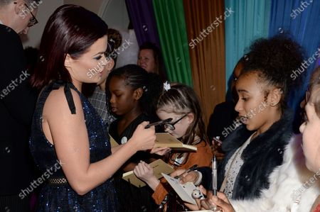 Editorial image of British Academy Children's Awards, Arrivals, The Brewery, London, UK - 01 Dec 2019