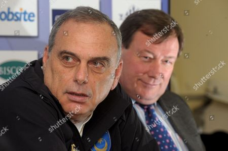 Avram Grant and Chief Executive Peter Storrie.