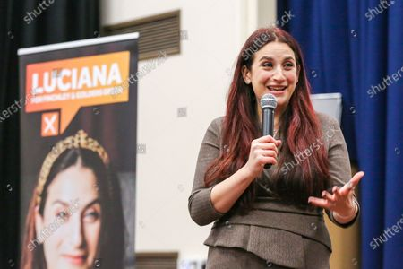 Editorial image of Liberal Democrats' candidate Luciana Berger campaigning in Finchley, London, UK - 01 Dec 2019