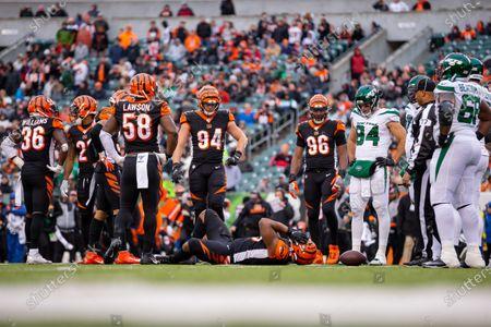Editorial image of NFL Jets vs Bengals, Cincinnati, USA - 01 Dec 2019