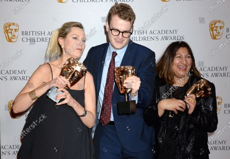 Editorial image of British Academy Children's Awards, Press Room, The Brewery, London, UK - 01 Dec 2019