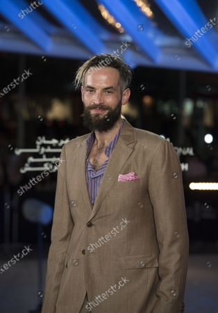 Stock Picture of Sandro Kopp attends the tribute to French filmmaker Bertrand Tavernier (unseen) at the 18th annual Marrakech International Film Festival, in Marrakech, Morocco, 01 December 2019. The film festival runs from 29 November to 07 December 2019.