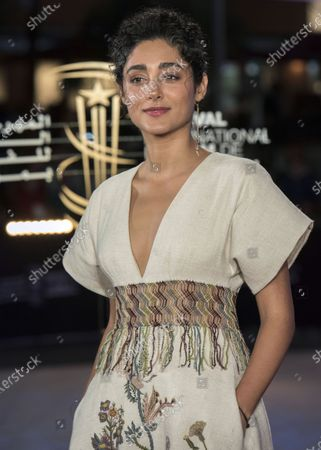 Golshifteh Farahani attends the tribute to French filmmaker Bertrand Tavernier (unseen) at the 18th annual Marrakech International Film Festival, in Marrakech, Morocco, 01 December 2019. The film festival runs from 29 November to 07 December 2019.