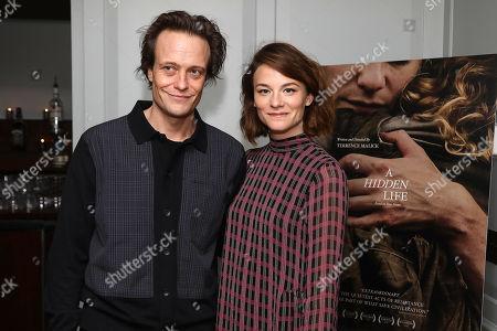 August Diehl and Valerie Pachner