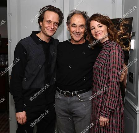 August Diehl, Mark Rylance and Valerie Pachner
