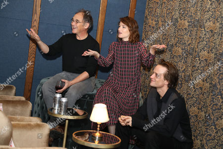 Stock Picture of Mark Rylance, August Diehl and Valerie Pachner
