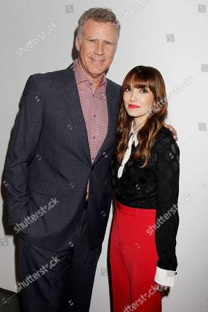 Will Ferrell and Lorene Scafaria