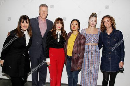 Elaine Goldsmith-Thomas, Will Ferrell, Lorene Scafaria, Lili Reinhart, Jessica Elbaum