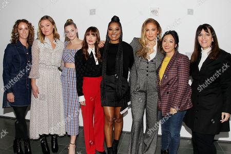 Jessica Elbaum, Julia Stiles, Lili Reinhart, Lorene Scafaria, Keke Palmer, Jennifer Lopez, Constance Wu and Elanine Goldsmith-Thomas