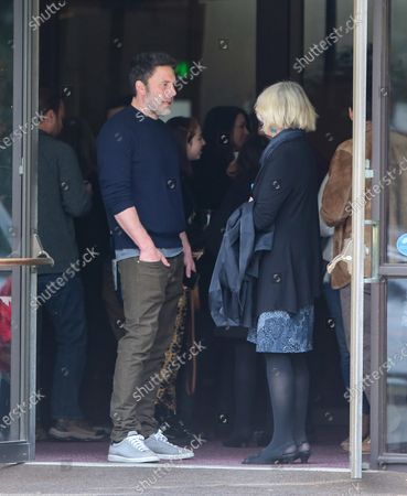 Stock Picture of Ben Affleck and Christine Anne Boldt