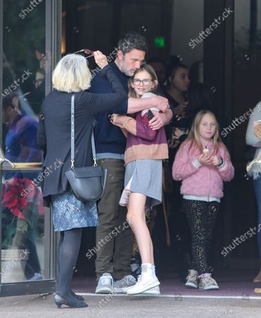 Editorial photo of Ben Affleck and Jennifer Garner out and about, Los Angeles, USA - 01 Dec 2019