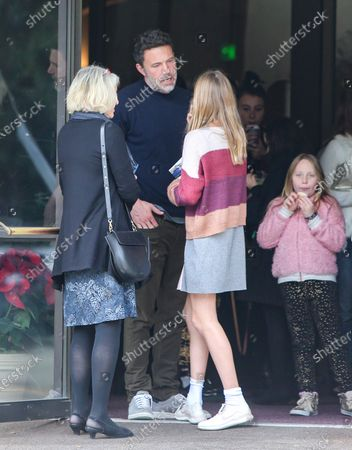 Editorial picture of Ben Affleck and Jennifer Garner out and about, Los Angeles, USA - 01 Dec 2019
