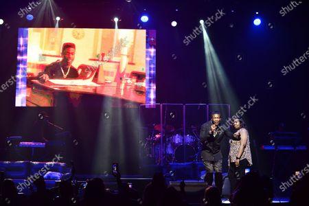 Editorial picture of Black Saturday R&B Jam, James L. Knight Center, Miami, USA - 30 Nov 2019