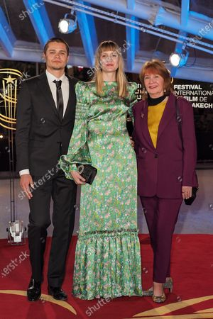 Editorial picture of Bertrand Tavernier honoured, 18th Marrakech International Film Festival, Morocco  - 01 Dec 2019