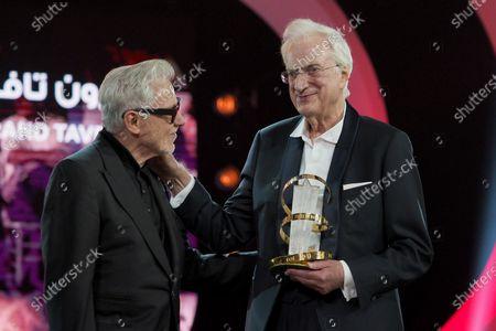 Harvey Keitel and Bertrand Tavernier