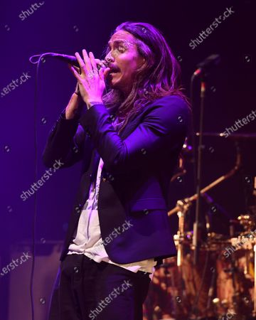 Stock Photo of Incubus - Brandon Boyd