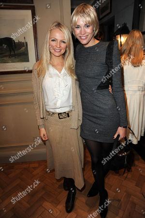 Stock Image of Hannah Sandling and Jenni Falconer