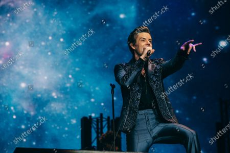 Editorial image of The Killers in concert at du Arena, Abu Dhabi, United Arab Emirates - 01 Dec 2019