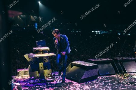 Editorial photo of The Killers in concert at du Arena, Abu Dhabi, United Arab Emirates - 01 Dec 2019