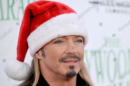 US singer Bret Michaels arrives for the 88th annual Hollywood Christmas Parade in Hollywood, California, USA, 01 December 2019.