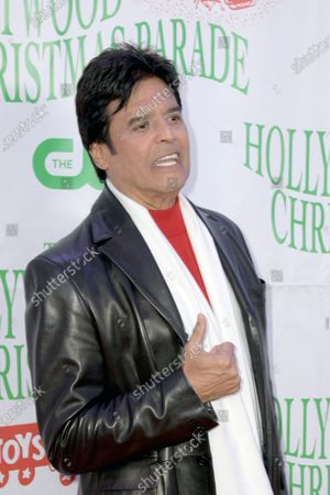 Stock Image of US actor Erik Estrada arrives for the 88th annual Hollywood Christmas Parade in Hollywood, California, USA, 01 December 2019.