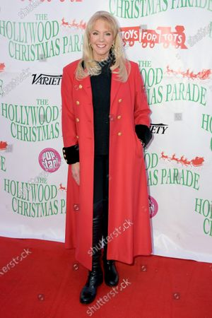 US author Laura Mckenzie arrives for the 88th annual Hollywood Christmas Parade in Hollywood, California, USA, 01 December 2019.