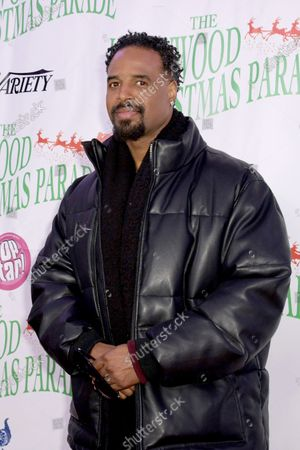 Stock Picture of US actor Shawn Wayans arrives for the 88th annual Hollywood Christmas Parade in Hollywood, California, USA, 01 December 2019.
