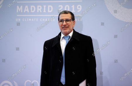 Moroccan Prime Minister Saadeddine Othmani poses for photographers upon his arrival for the opening ceremony of the COP25 Climate Summit held in Madrid, Spain, 02 December 2019. The UN Climate Change Conference COP25 runs from 02 to 13 December 2019 in the Spanish capital.