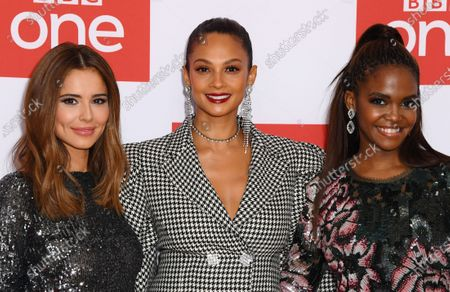 Cheryl, Alesha Dixon and Otlile Mabuse