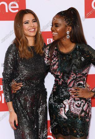 Cheryl and Otlile Mabuse