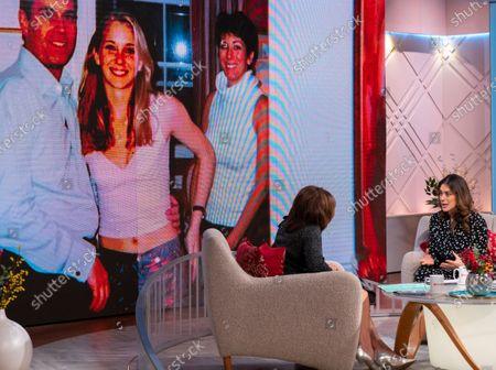 Editorial image of 'Lorraine' TV show, London, UK - 02 Dec 2019