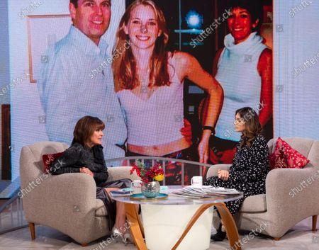 Editorial picture of 'Lorraine' TV show, London, UK - 02 Dec 2019