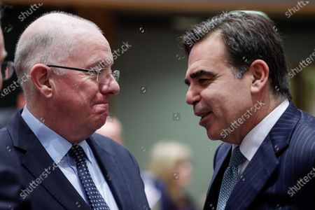 Editorial photo of Justice and Home Affairs Council, Brussels, Belgium - 02 Dec 2019