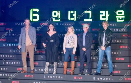 Editorial image of '6 Underground' film press conference, Seoul, South Korea - 02 Dec 2019