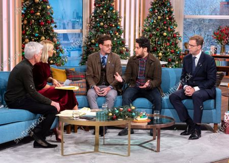 Phillip Schofield, Holly Willoughby, Thomas Gray, Stevie Hurst and Tobias Ellwood