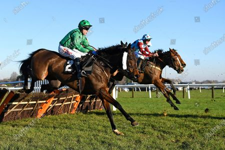 Winner of The Tysers Mares' Handicap Hurdle Miss Tynte (2)  ridden by Tom Scudamore and trained by David Pipe  during Horse Racing at Plumpton Racecourse on 2nd December 2019