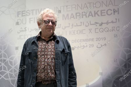 Jeremy Thomas Film producer attends the 18th Marrakech International Film Festival, in Marrakech, Morocco, 03 December 2019. The film festival runs from 29 November to 07 December 2019.