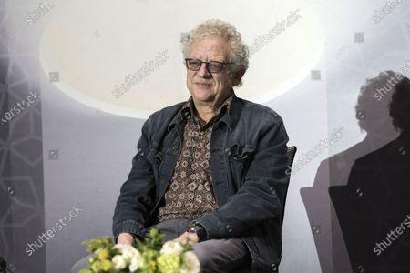 Jeremy Thomas (L), Film producer attends the 18th Marrakech International Film Festival, in Marrakech, Morocco, 03 December 2019. The film festival runs from 29 November to 07 December 2019.
