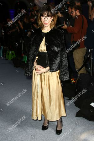 Sally Hawkins poses for photographers upon arrival at the British Independent Film Awards in central London