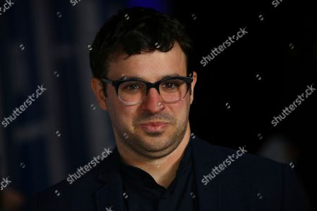 Simon Bird poses for photographers upon arrival at the British Independent Film Awards in central London