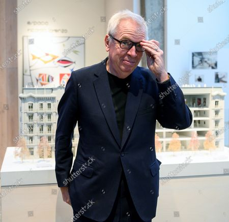 British architect David Chipperfield poses for the photographer as he attends the 'Santander, A Mille of Museums' conferences in Santander, northern Spain, 02 December 2019.