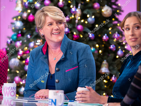 Clare Balding and Stacey Solomon