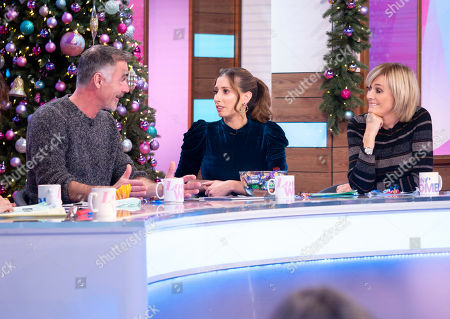 Greg Wise, Stacey Solomon and Jane Moore