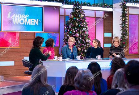 Andrea McLean, Saira Khan, Clare Balding, Stacey Solomon and Jane Moore