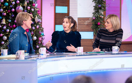 Clare Balding, Stacey Solomon and Jane Moore