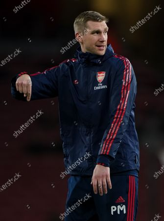 Arsenal assistant coach Per Mertesacker