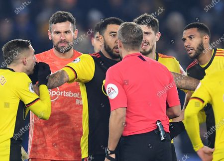 Editorial photo of Leicester City v Watford, Premier League, Football, King Power Stadium, Leicester, UK - 04 Dec 2019